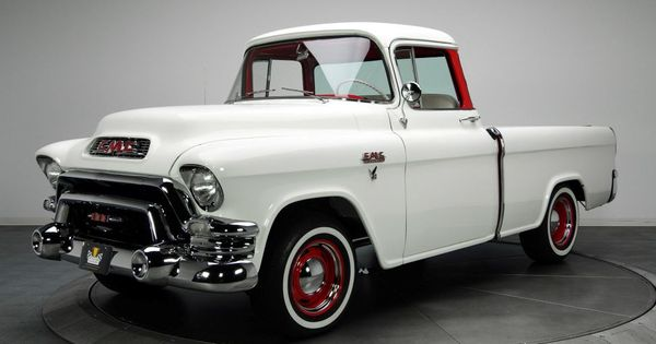 1955 Chevrolet Suburban Hd Wallpaper Gmc Trucks Vintage Pickup Trucks Old Pickup Trucks