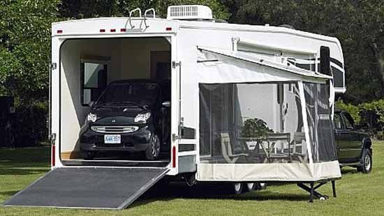 Rv With Toy Hauler 5th Wheel Toy Hauler Toy Hauler Fifth Wheel Toy Haulers