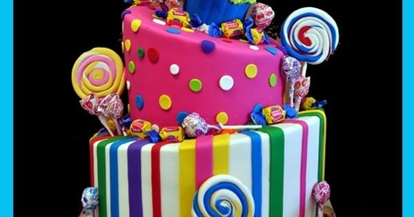 candyland birthday party cakes - Bing Images