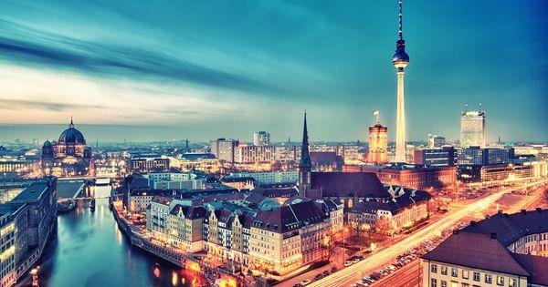 Berlin City Nights - Berlin, Germany