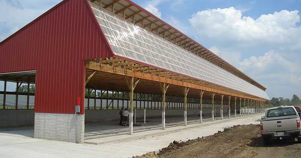 Monoslope Cattle Barns Cattle Barn Plans And Designs