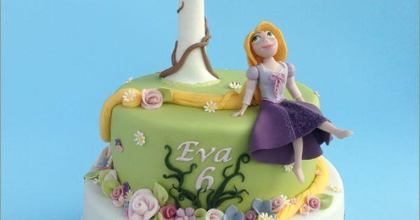 Torta Rapunzel - Rapunzel cake - Briciola sweet design ...