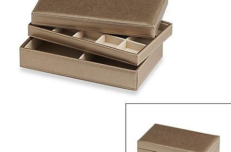 Ampersand Reg Small Stackable Jewelry Trays Set Of 3 Jewelry Tray Organizer Jewellery Storage Jewelry Tray