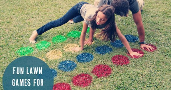 Backyard twister and 7 more fun lawn games for families