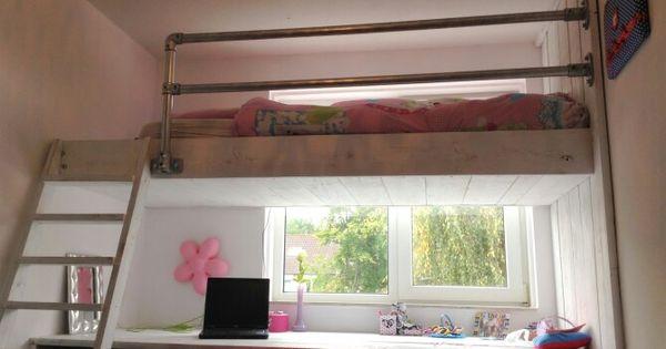 Vide jongens slaapkamer siem pinterest kids rooms organizations and bedrooms - Mezzanine jongen ...