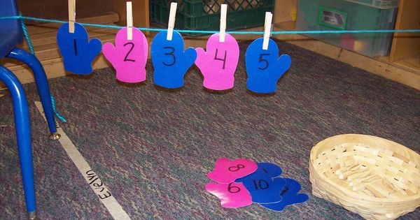 Mittens number line