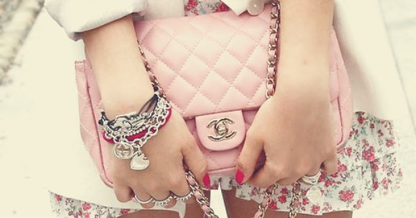 Pink Coco Chanel Bag