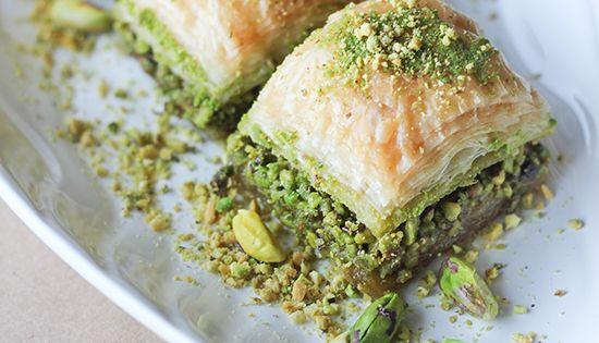 Turkish baklava recipe lebanese food pinterest for Anoush middle eastern cuisine