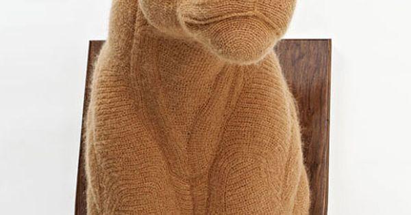 Mountain Lion Amigurumi : Mind-Boggling Crocheted Taxidermy Animals Taxidermy ...