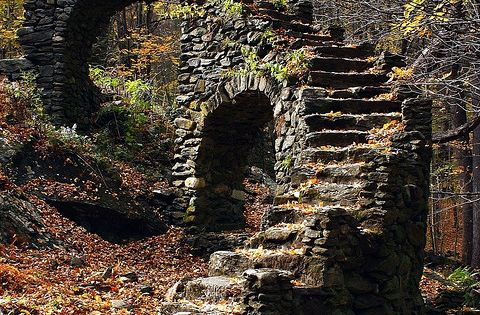 stairway to dreams (Castle Ruins, W. Chesterfield, New Hampshire)
