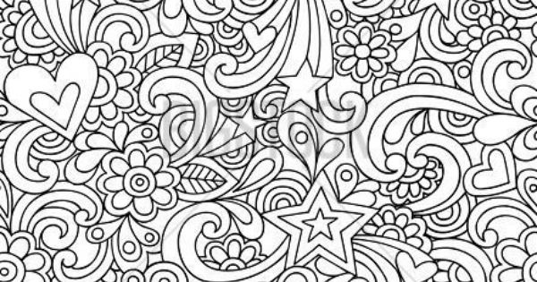 triptastic coloring pages | psychedelic groovy peace doodle | ceramic ideas ...