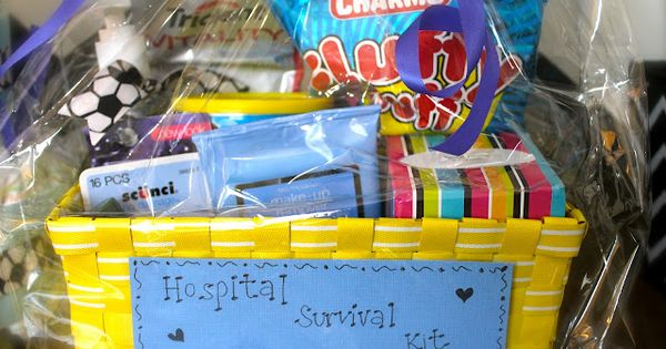 Hospital Survival Kit - The Most Creative DIY Baby Shower Gifts!