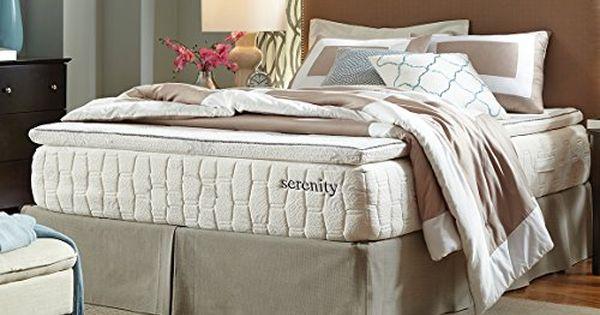 Serenity 13 Memory Foam Mattress Cool Sleep Plush Pillow Top