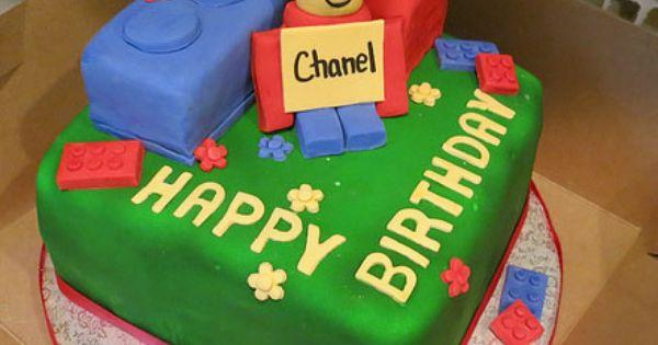 A Lego Birthday Cake
