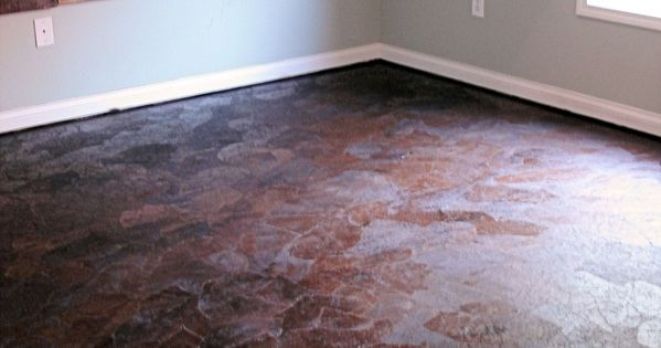 The Ultimate Brown Paper Flooring Guide... wow. I would have never thought