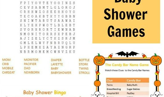 halloween printable baby shower games halloween printable