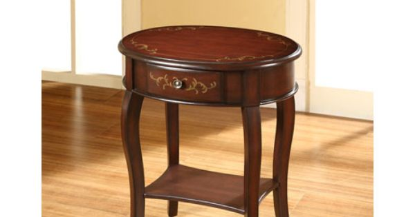 Foxcroft Warm Cherry End Table Home Decorating Ideas