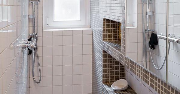 salle de bain pix dans un couloir de 90cm de large ma ma architectes 4eme etage. Black Bedroom Furniture Sets. Home Design Ideas