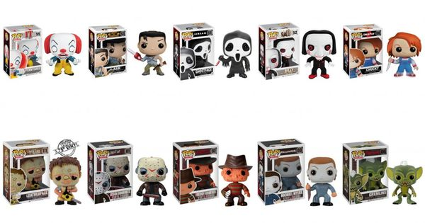 Win A 10 Pack Of Funko Horror Pop Vinyl Figures Dread Central Horror Pop Vinyl Vinyl Figures Pop Vinyl Figures