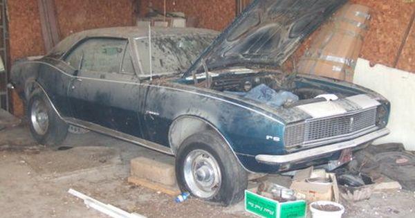 Camaro Wrecking Yards : Camaro z barn finds junk yard cars etc pinterest