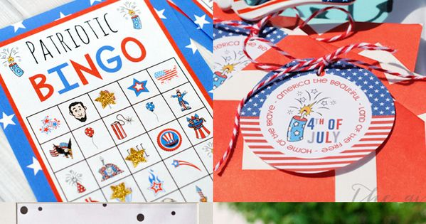 free memorial day bingo cards