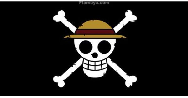One Piece Straw Hat Pirates Black Flag Big Towel One Piece Logo Manga Manga One Piece