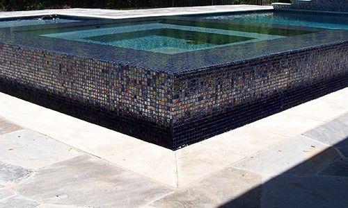 1 Inch Renoir Glass Noble Tile Supply Mosaic Pool Tile Tile