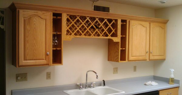 Custom Built Wine Rack Over Sink Portfolio Minuteman