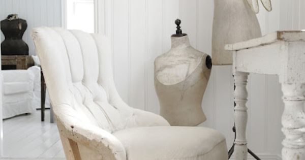 Shabby Chic Chair Amp Vintage Style Sewing Room