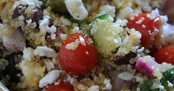 Healthy Greek Quinoa Salad, Gluten-free 10 Gluten-Free Breakfast Recipes We've fetched your
