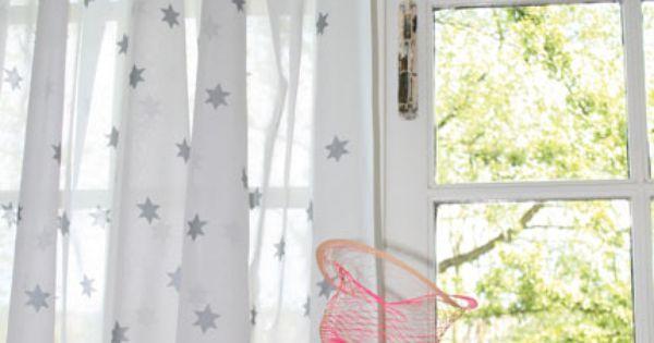 Ideeen Gordijn Kinderkamer : Voile #gordijn Onszelf Huis Pinterest ...