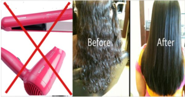 Awesome Idea How To Straighten Hair Overnight Completely