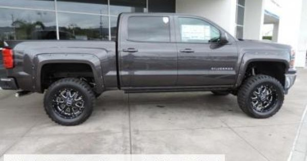 Lifted New 2014 Chevy Silverado 1500 Crew Cab 2wd Lt Chevy