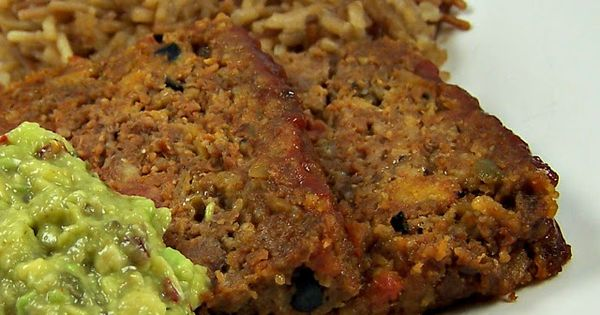 Taco meatloaf and Tacos on Pinterest