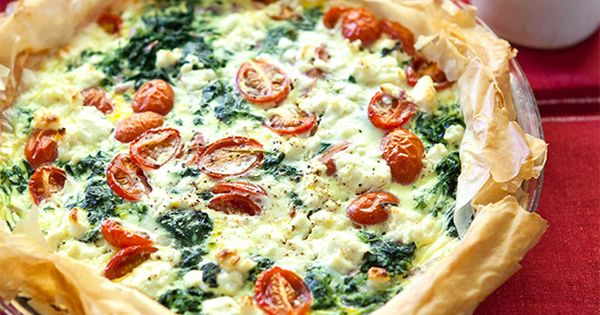 Never made a quiche before, but it sounds like a lovely idea