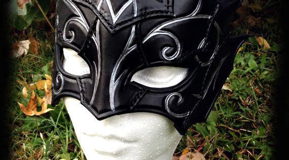 Swirly mage mask costume fantasy larp larping