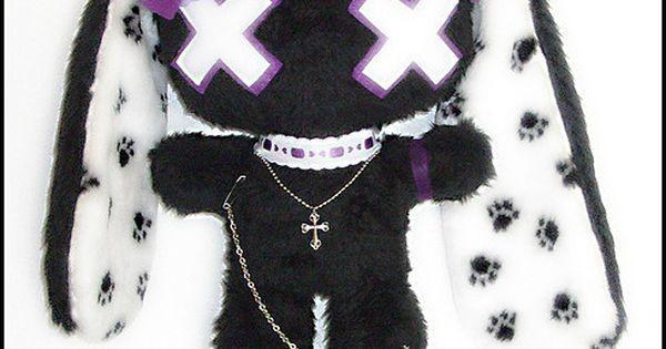 Goth Bunny XOXO
