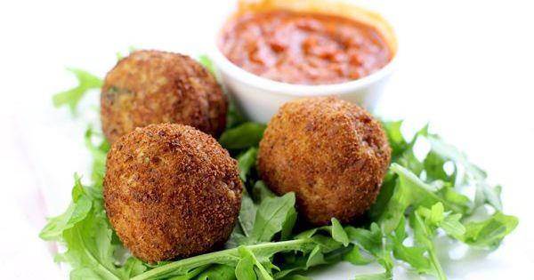 Risotto balls, Recipe and Risotto on Pinterest