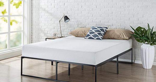 Amazon Com Zinus Olb Smpb 14f Lorelei 14 Inch Platforma Bed Frame