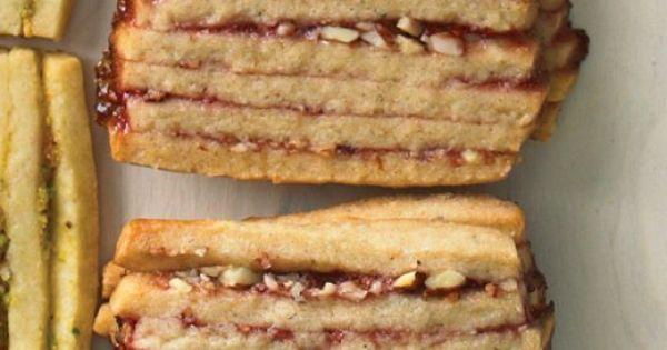 Icebox cookies, Cookies and Raspberries on Pinterest
