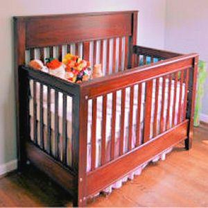 3-1 convertible crib plans! | Cribs, Baby crib diy ...