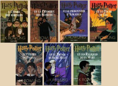 Harry Potter Books French Version Harry Potter Trucs