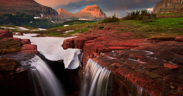 Glacier National Park, Montana-Favorite US state park so far-DRAMATIC. Montana IS the