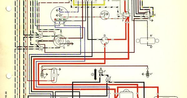 1967 Beetle Wiring Diagram (USA) best
