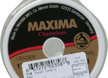 Maxima Fishing Line Leader Wheel, Chameleon, 5-Pound\/27-Yard http - line leader
