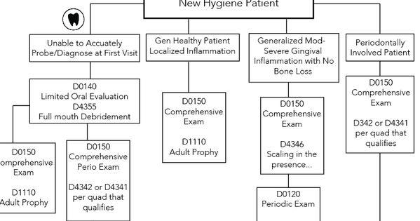 Hygiene Dental Code Flow Chart Hygiene Edge Dental Flow Chart Dental Hygiene Student