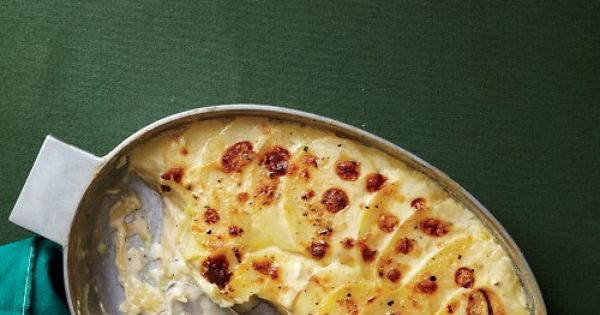 Martha Stewart - Simple Scalloped Potatoes Recipe
