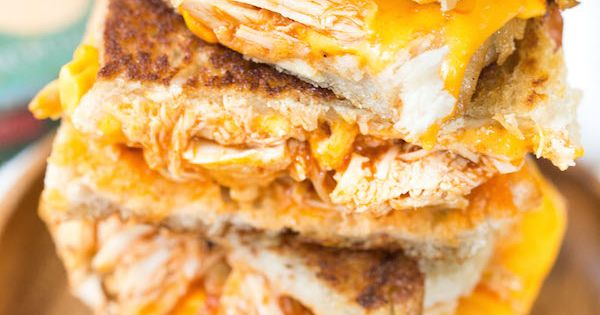 Buffalo chicken grilled cheese sandwiches recipe wings for Buffalo chicken sandwich recipe grilled