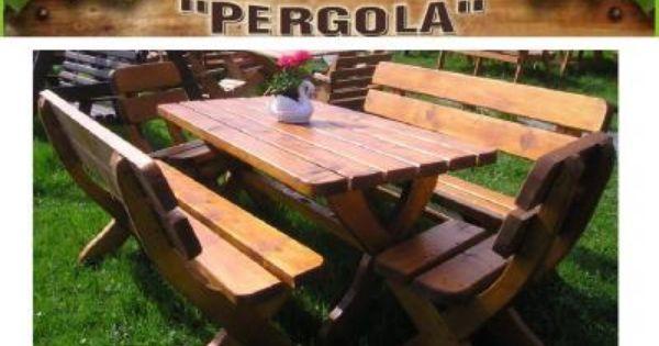 Meble Ogrodowe Drewniane Standard Duzy Stol 200cm Picnic Table Furniture Table