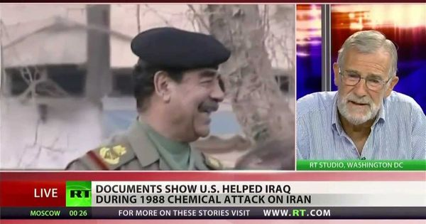 How the CIA helped Saddam Hussein use chemical weapons on ...